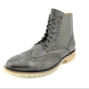 J.D. Fisk Leather Boots Olive